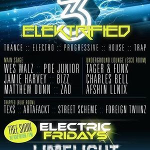 Matthew Dunn live @ ELEKTRIFIED 3 - Limelight Houston 2-21-2014