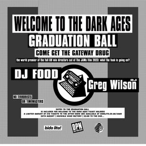 DJ Food - Welcome To The Dark Ages - Invisible Wind Factory 26.08.17