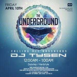 The Underground Live Set Recording