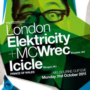 Meltdown - London Electricity & Icicle Gig Mix - October 2011