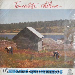 Los Huasos Quincheros: Tonadita Chilena. LDC-36346. Odeón. 1960. Chile