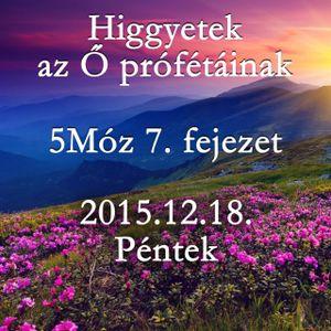 [BLOCKED] 159. - 5Moz 7. fejezet - 2015.12.18. Pentek