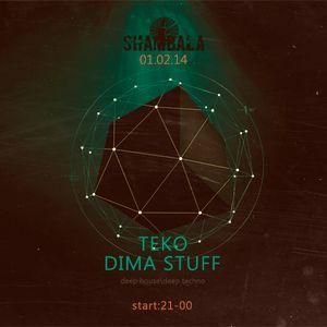 TEKO & Dima Stuff @ Shambala 01.02.2014