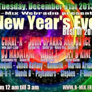 "JOHN SPARKS aka DJ ICE(Parquet rec./Shelter54/Galaxie FM) - New Year's Eve ""Best of 2013"" [31/12/13]"