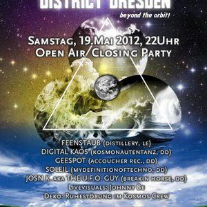 Gee Spot @ 1 Jahr Kosmonautentanz 19.05.2012
