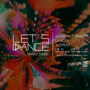 Illan Nicciani recorded live @ Let's Dance (06 12 2015)