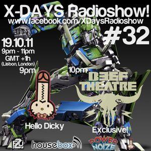 X-DAYS Radioshow! #32 - Hello Dicky