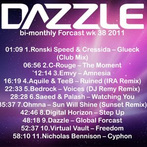 Dazzle's bi-monthly Forcast wk 38 2011