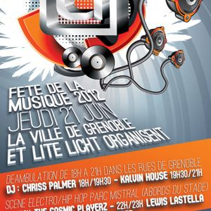 Mix Tech House sur le char Lite Licht 21.06.2012