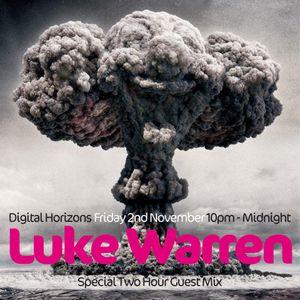 Digital Horizons - 02 November 2012 with Guest Mix by Luke Warren (Progressive House)
