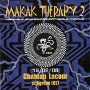 ((( MAKAK SYSTEME ᕕʕ̡̢̡ʘ̅͟͜͡ʘ̲̅ʔ̢̡̢ᕗ Bino )))  Live @ Makak Therapy 2 - 16/02/08