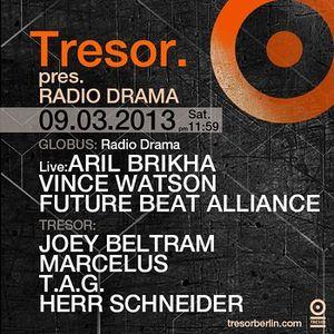 Joey Beltram @ Radio Drama - Tresor Berlin - 09.03.2013