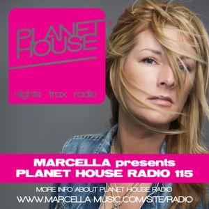 115 Marcella presents Planet House Radio