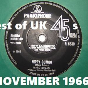 NOVEMBER 1966: Best of the UK releases on 45rpm