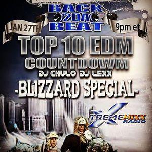 Top 10 EDM Countdown Show - Jan 27, 2015 with Freestyle Chulo & DJ Lexx