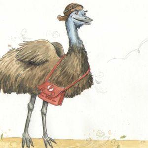 Flying emu takes physics to kids