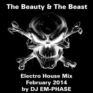 """""""The Beauty & The Beast 008"""" (Electro House Mix -  February 2014 by EM-PHASE)"""