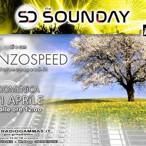 LORENZOSPEED* presents THE SOUNDAY Radio Show Domenica 11 Aprile 2021 piu siamo piu ci divertiamo ;)