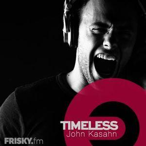 John Kasahn pres. TIMELESS - Episode 058 @ Frisky Radio (September 2016)