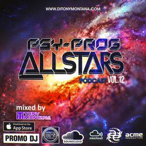 Psy-Prog Allstars podcast # 12 with Dj Tony Montana [MGPS 89,5 FM] 29.04.2017