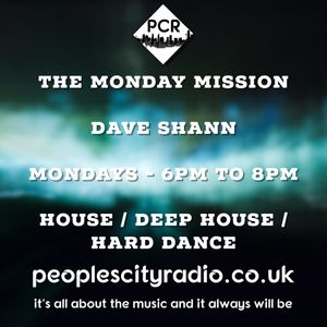 Dave Shann - The Monday Mission - 26.06.17