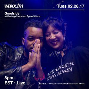 Goodside w/ Darling Chuck & Spree Wilson on @WAXXFM (02.28.17)