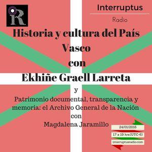 Interruptus Radio (El Pasado es hoy) - Acceso a información histórica en el AGN y Euskal Herria