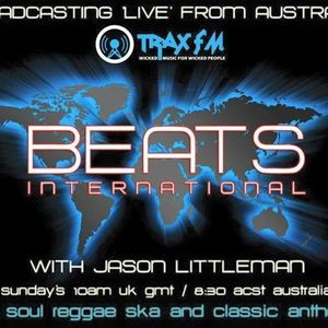 DJ Littleman beats International radio show live on www.TraxFM.org 19/06/16