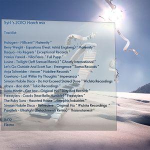 5ynN's 2010 March Mix