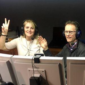 Radioshow dj Spilly from Belgium & dj Vilborg from Iceland 23-11-2017