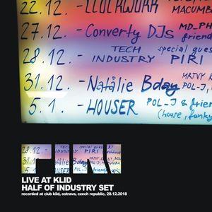 DJ Piri - Live At Klid (2018-12-28) (Half Of Industry Set)
