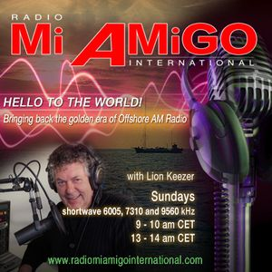 Radio Mi Amigo International  -  Lion Keezer 4th show, Sunday June 28 2015