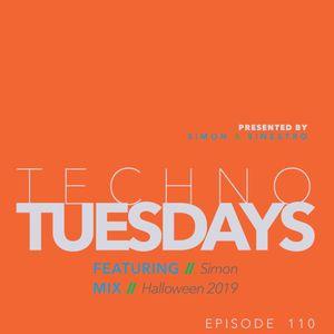 Techno Tuesdays 110 - Simon - Happy Halloween 2019