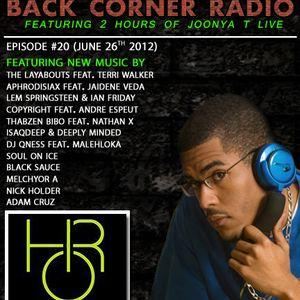 BACK CORNER RADIO: Episode #20 (July 26th 2012)
