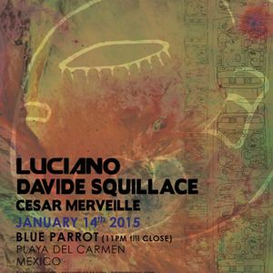 DAVIDE SQUILLACE - CADENZA MEET THIS&THAT @ BLUE PARROT - THE BPM FESTIVAL 2015
