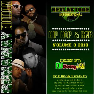 HIP HOP AND R&B VIBES VOL. 3 2010 (RUNAWAY EDITION)