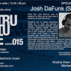 Structure Radio Show 015 (2Capitales Radio, Paris) fresh/exclusive by Kristina Vixen (13.05.2011)