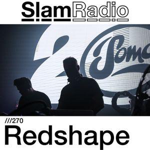 Slam - Slam Radio 270 (guest mix Redshape) on TM Radio - 03-Nov-2017