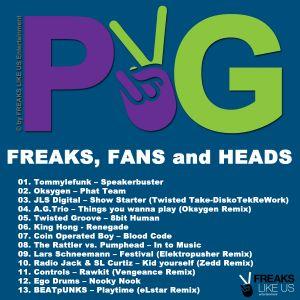 Purple & Green FLU004 DJ Mix