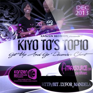 Kiyo To's - Get Up And Go December Top 10