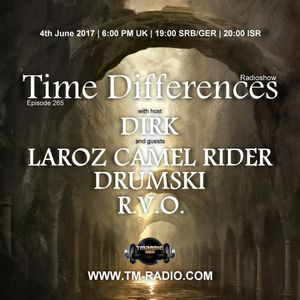 R.V.O. - Guest Mix - Time Differences 265 (4th June 2017) on TM-Radio