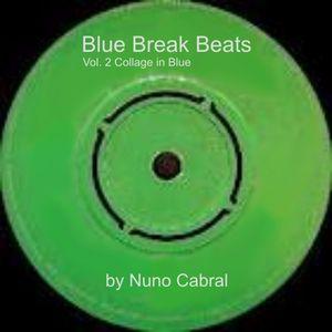 Blue Break Beat Vol. 2 Collage In Blue