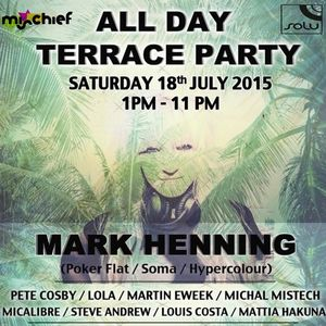 LOLA ::SOLU 153:: All Day Terrace Party with Mark Henning Promo Mix