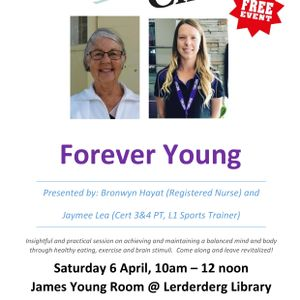 BacchChat April 2019- Forever Young