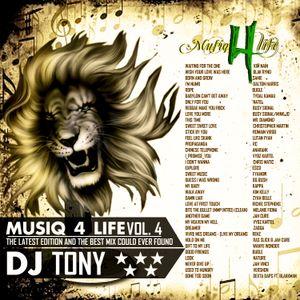 Musiq4Life Vol.4 - Dj Tony Fivestar