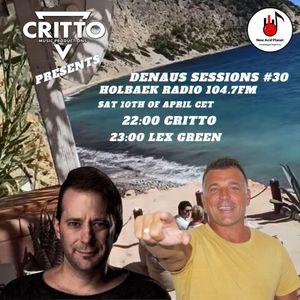 Critto (AUS) - Lex Green (Switzerland) DenAus Sessions #30 Holbaek Radio 104.7FM