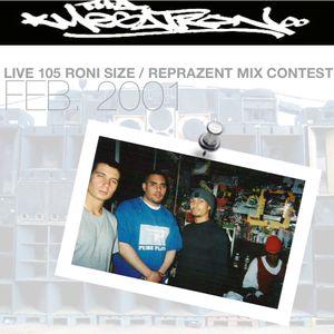 LIVE 105 - RONI SIZE / REPRAZENT MIX CONTEST