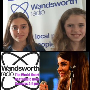 World Heart Beat Music Hour July 2nd 2017 with Lucy, Sian, Esme & Lalou