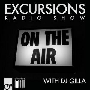 Excursions Radio Show #11 with DJ Gilla - Sept 2012