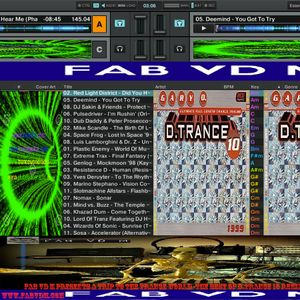 Fab vd M Presents A Trip To The Trance World - The Best Of D.Trance 10 Remixed